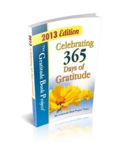 Gratitude Book 2013 - cover image